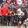 Terps Ty Johnson runs the home team sidelines for a 1st down.