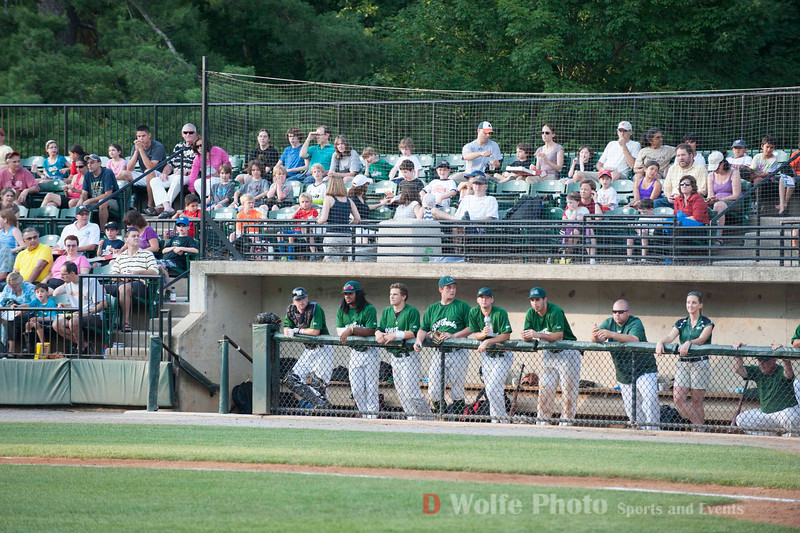 The crowd and the Big Train team at Sally Povich Field.