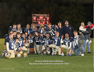Eversole Middle School Bulldogs - Big Sandy Valley Conference Champs 2005