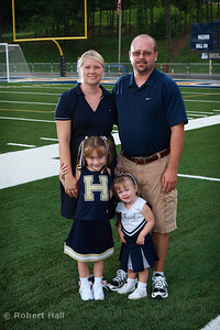 Coach Dixon and family