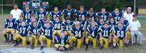 Eversole Middle School Bulldogs Football Team 2004, Hazard Kentucky