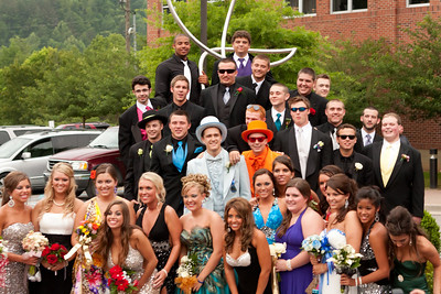 Hazard High School prom attendees 2010