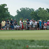 A gallery shot at the 2013 AT&T National Tournament arond the 9th green.