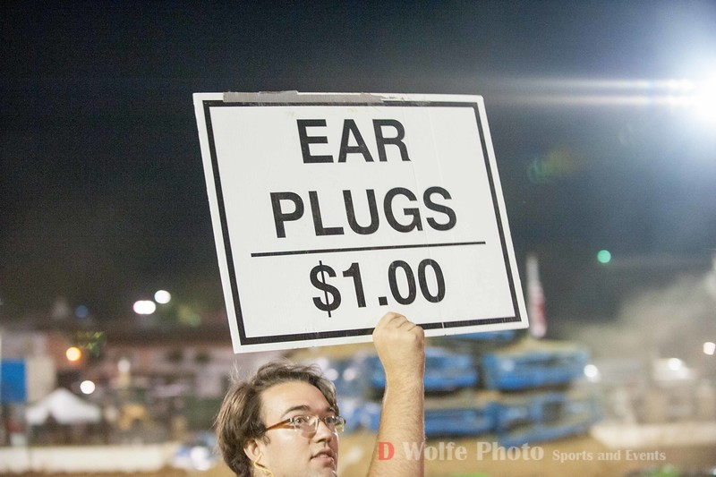 The Monster Truck event gets a bit loud.   Ear plugs were a great investment.