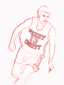 Perry County Basketball Graphic
