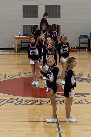 Plaza Park Middle School - Cheerleaders