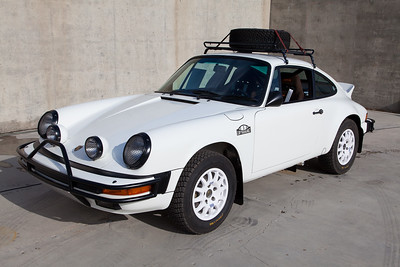 #LUFTAUTO, the Luftgekühlt team's interpretation of a rally-style 911