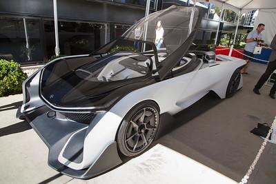 2017 Faraday Future FF Zero 1