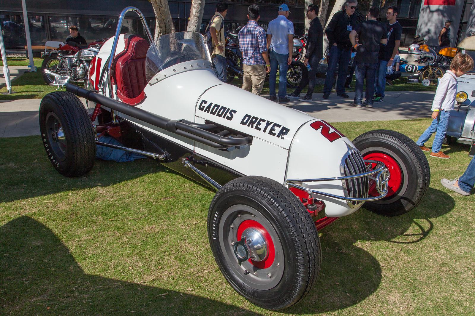 1953 Gaddis Dreyer racer car