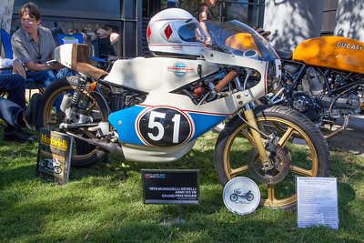 1976 Morbidelli-Benelli Armi 125 VR GP Racer
