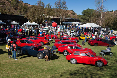 Despite the Fall heatwave, the Art Center College of Design's annual Car Classic had a huge attendance.