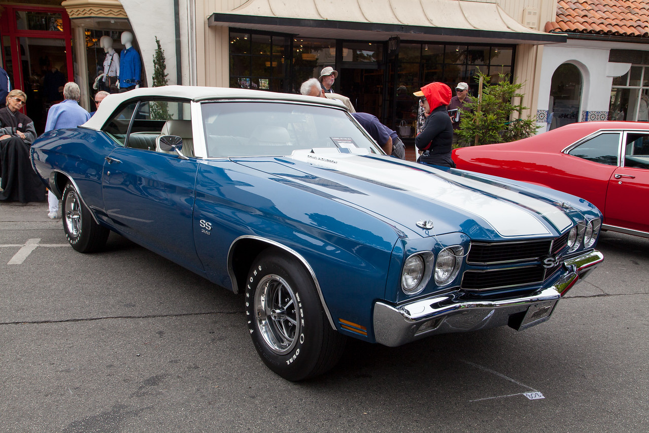 Murray Powell - 1970 Chevrolet Chevelle SS 396 Convertible