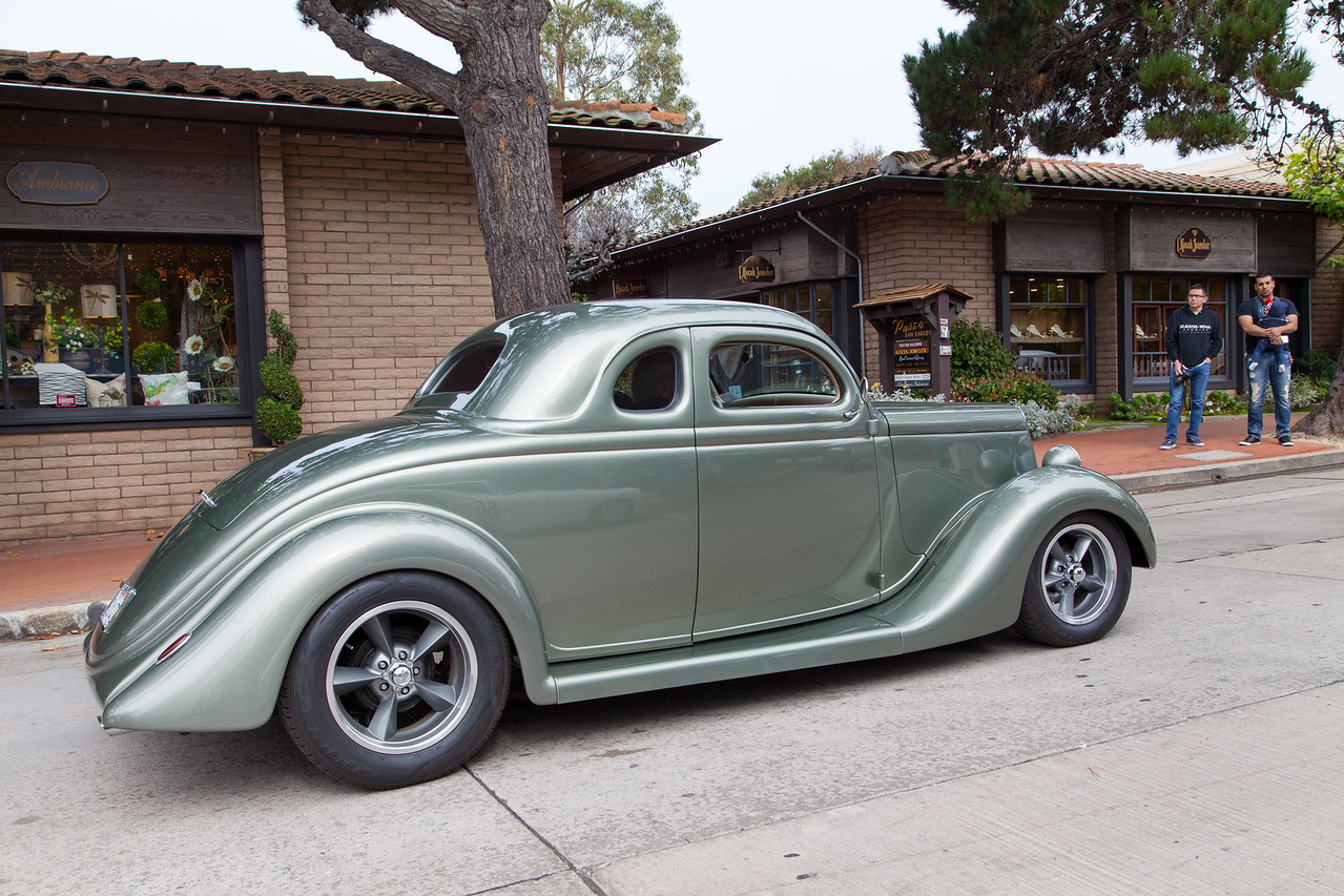 Albert Denice - 1935 Ford 5-Window Coupe