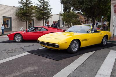 1985 Ferrari 288 GTO, Maserati Ghibli