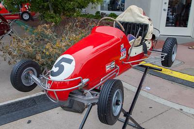 Historic Midget racer