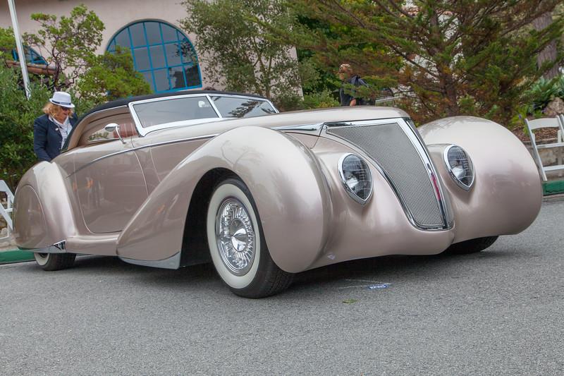 1937 FordRoadster Coachbuilt Custom 'After Shock'