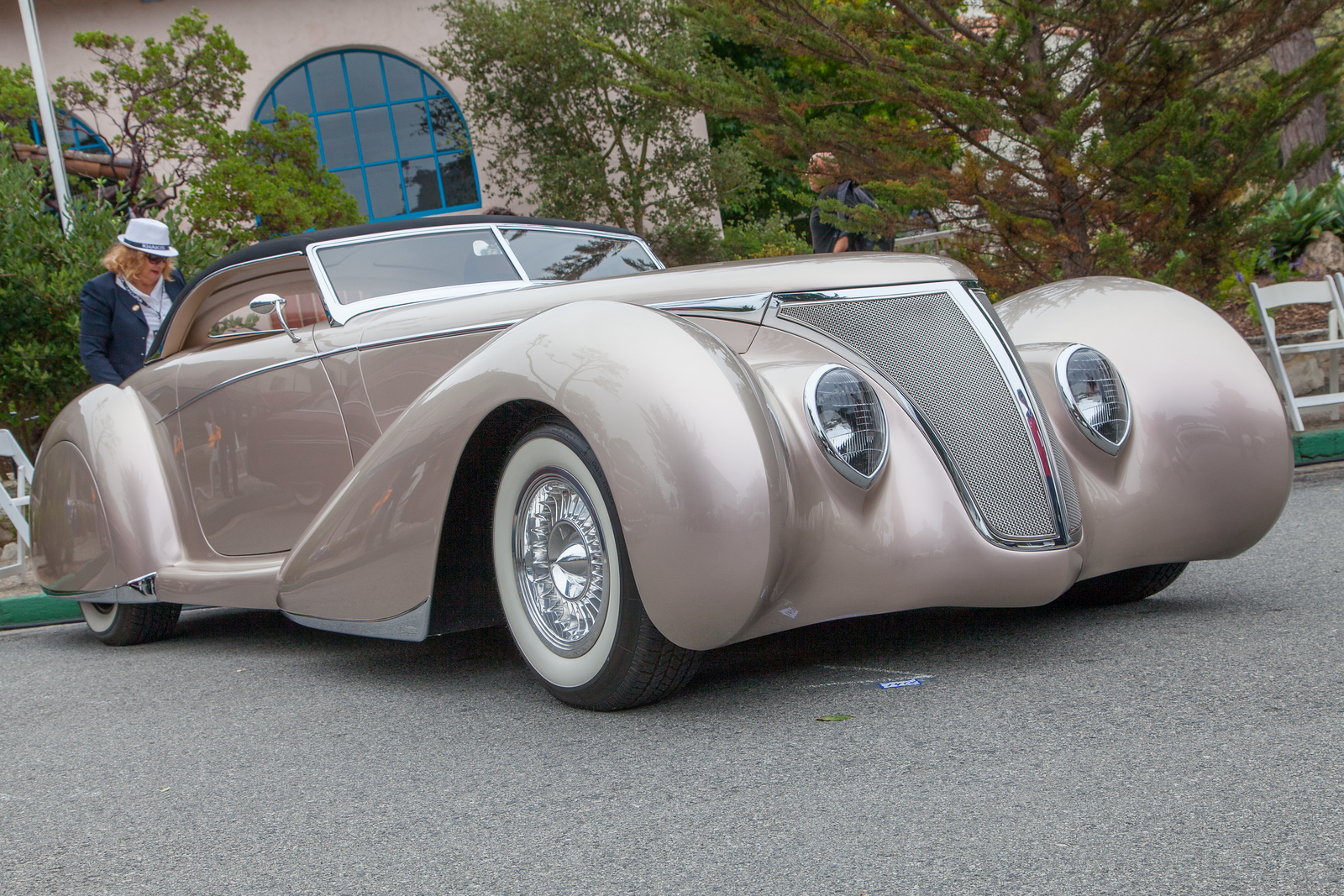 1937 FordRoadster Coachbuilt Custom 'After Shock'