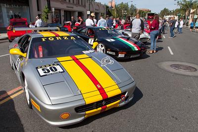 Silver & Black - 1995 Ferrari F355 Challenge racecars