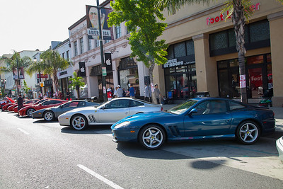 Ferraris on Colorado Blvd