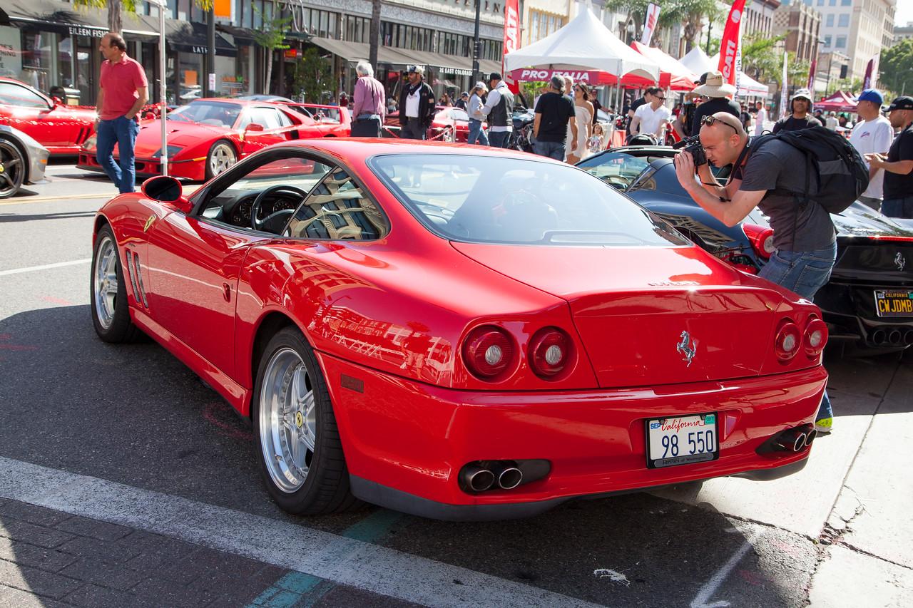 1998 Ferrari 550 Berlinetta