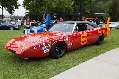 1969 NASCAR Dodge Daytona - 1st 200+ mph race lap.