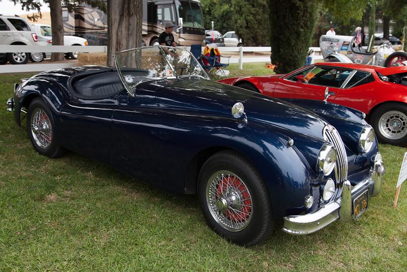 1956 Jaguar XK 140 MC.