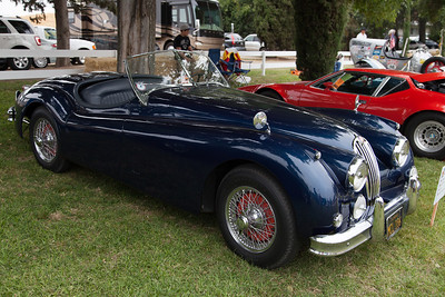 1956 Jaguar XK 140 MC.