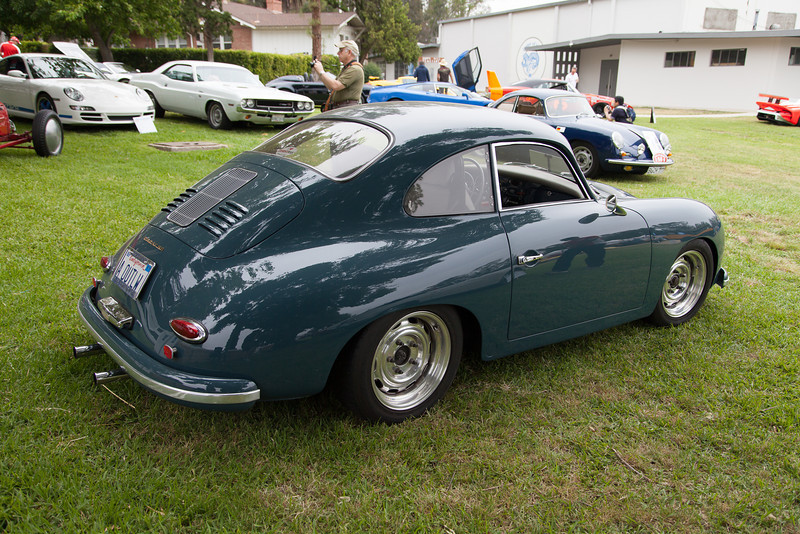 Ron Harris' 1957 Porsche 356 Coupe.