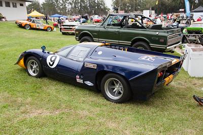 John Coombs 1969 Lola T70 MK3B - James Garner tibute car/