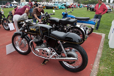 Sean Teague's 1969 Norton Commando.