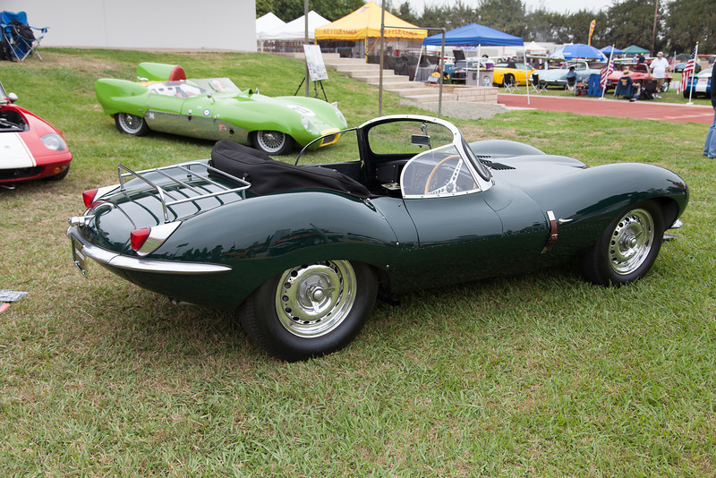 Steve McQueen's 1956 Jaguar XKSS - D-Type. (On display courtesy, The Peterson Museum)