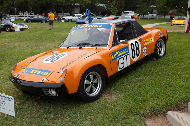 Don Murray's 1970 Porsche 911-6 GT, set the fastest lap at the Nurburgring 1000 km