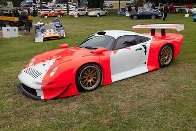 Kerry Morse's 1997 Porsche GT1 (chassis 101) FIA GT, Le Mans - 8 wins, 20 podiums.