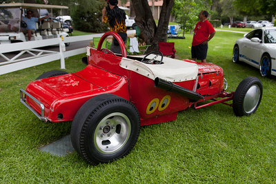 "The ""00"" 24T Ford Roadster - owned and operated by the Alcala Family Since 1953.  The original ""Mooneyes""!"