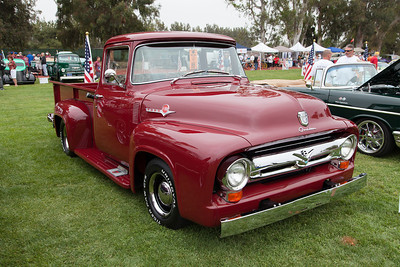 Alfred Pacheco's 1956 Ford F100 Long Bed.