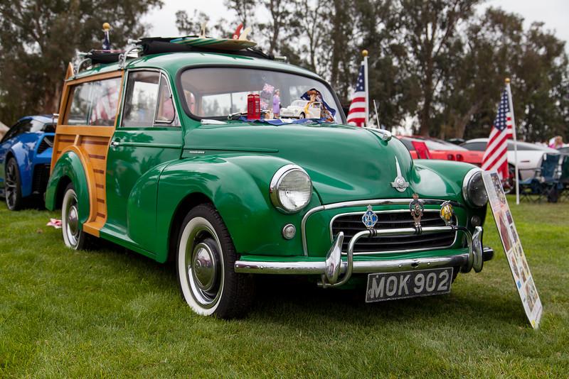 1958 Morris Minor Travelor - owned by Yank & Rickie Sefton