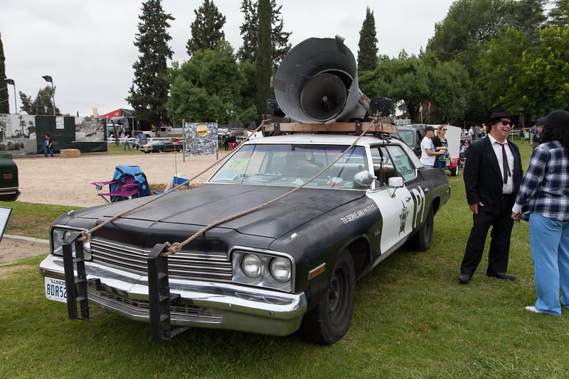 "1974 Dodge ""Bluesmobile"" Monaco sedan replica"