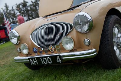 Arnold Linde's 1956 Austin Healey BN-2