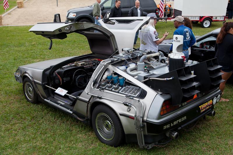 """""""Back to the Future"""" DeLorean DMC-12 replica"""