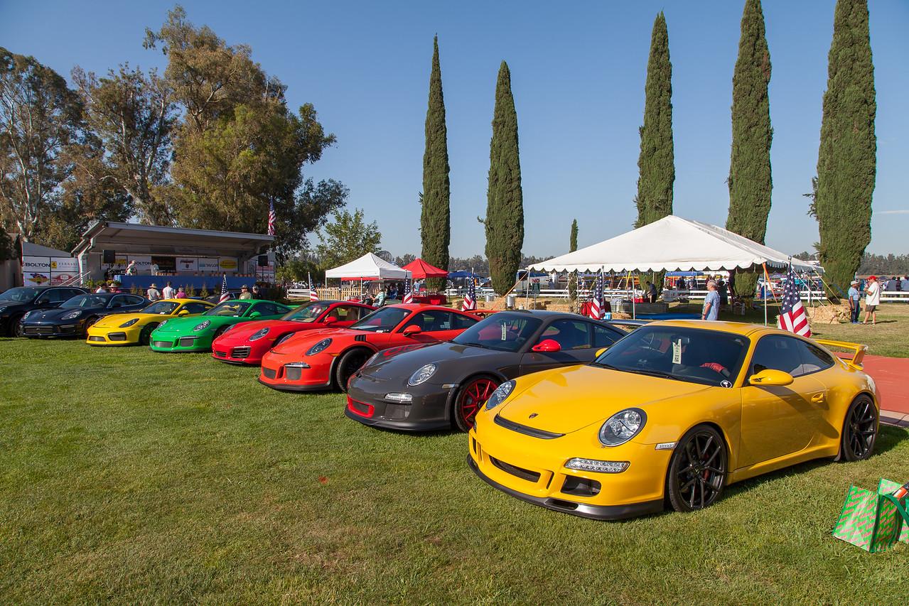 Porsche row