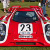 Herb Wysard's recreation of the Porsche 917-023 the first Porsche to take the overall Le Mans win in 1970