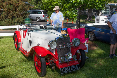1936 Singer Le Mans owned by Tony Raynor