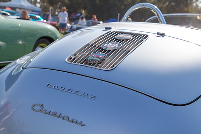1957 Porsche Speedster owned by Luis Desiderio