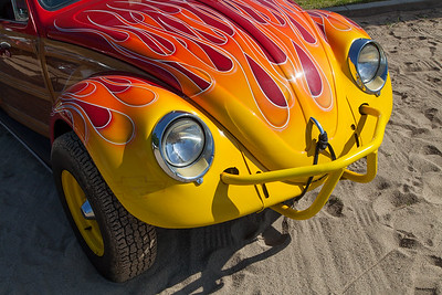 Flaming Beetle - 1963 Volkswagen Bug-Up owned by Richard McPeak