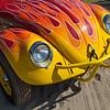Flaming Beetle - 1963 Volkswagen Bug-Up owned by Richard McPeak