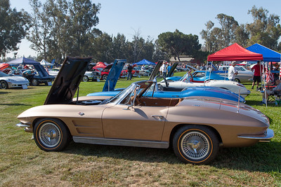 1963 Chevrolet Corvette owned by Roobik Kureghian