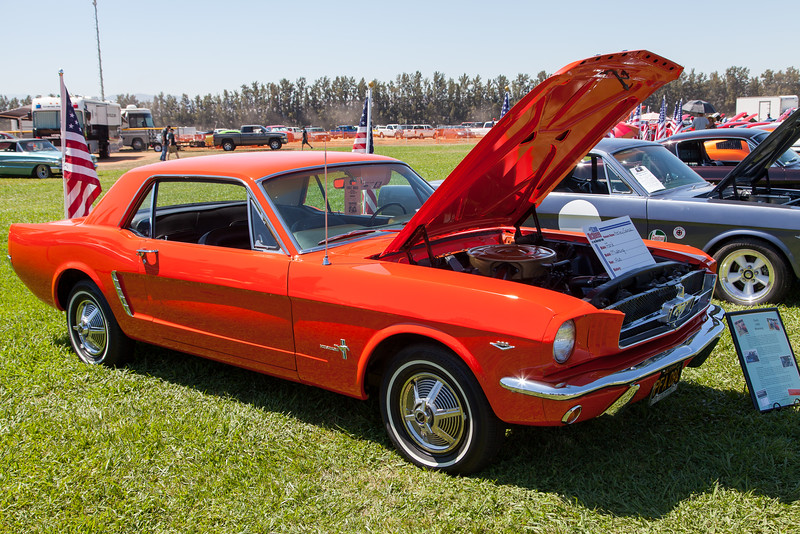 Kelly Garcia's 1965 Ford Mustang