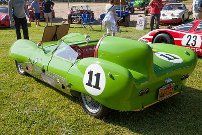 1957 Lotus Eleven (Tribute) - owned by John Holodnik & Vivian Woo