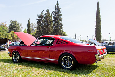 1965 Ford Mustang, owned by Ed Quezada