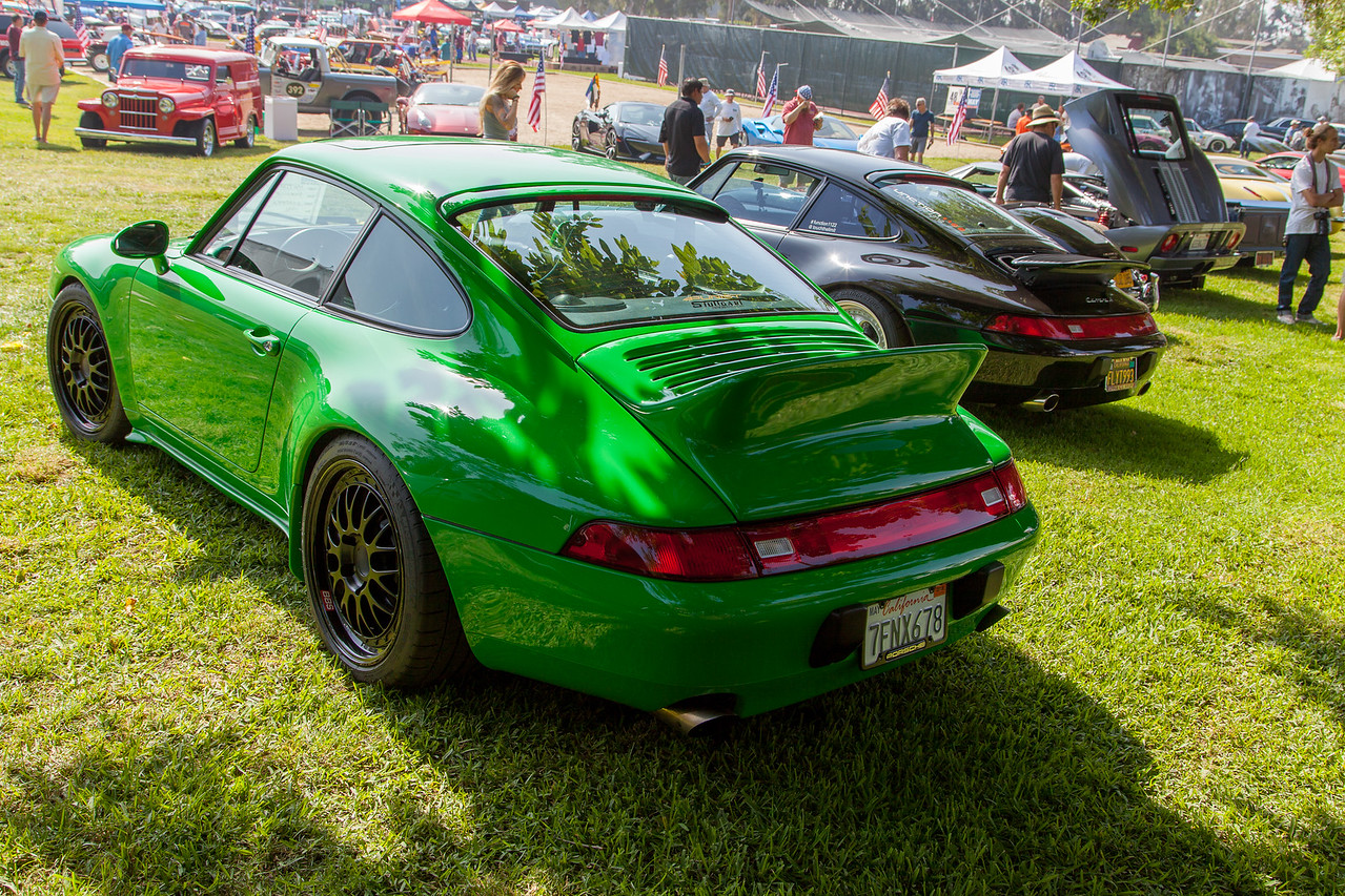 1996 Porache 911 Carrera, owned by Matteo Gosuico